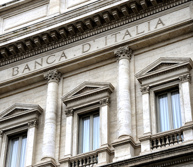 The Bank of Italy and major credit institutions use our services